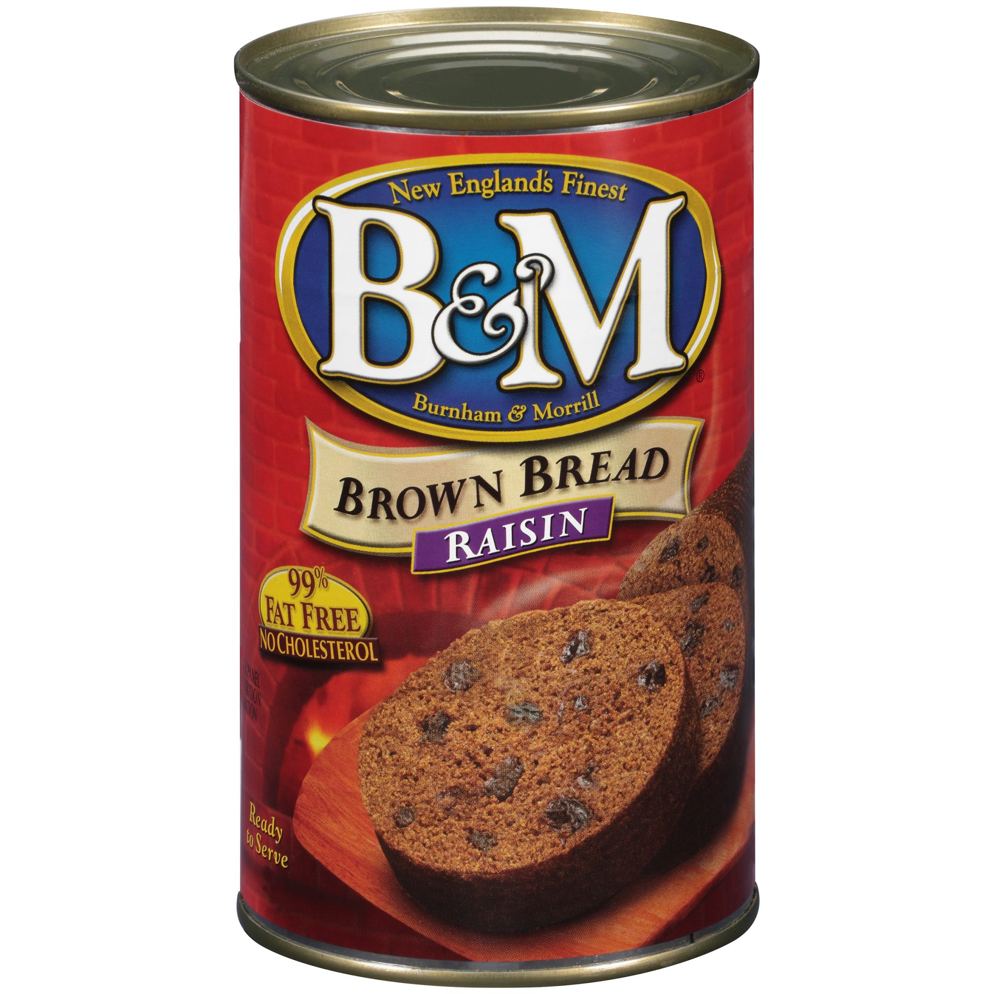 can of B&M Brown Bread