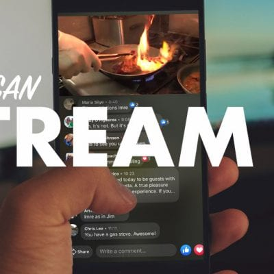 Stream It banner cell phone