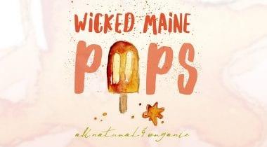 Wicked Maine Pops Logo