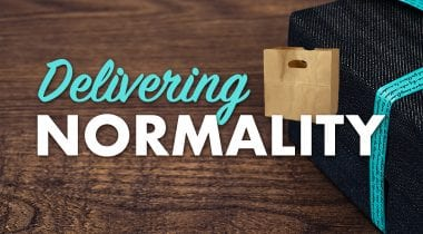 delivering normality graphic