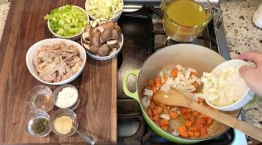 chicken pot pie ingredients