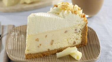 Dianne's White Chocolate Macadamia Cheesecake