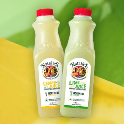 Natalie's Juice Lemon & Lime Bottles