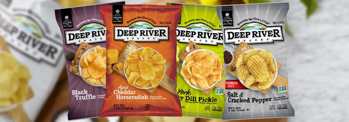 Deep River Snacks Chips 4 Bags