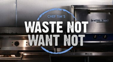 Waste Not Want Not Test Kitchen banner