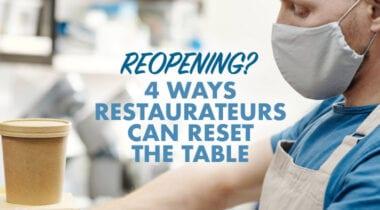Reopening Restaurants logo