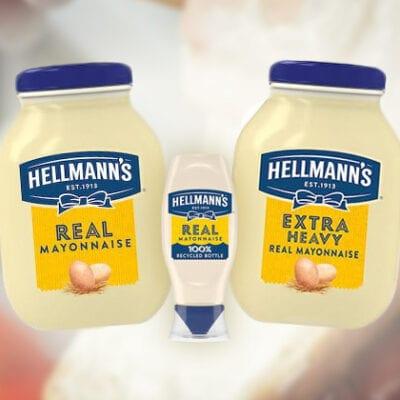 Hellmann's Mayonnaise jars