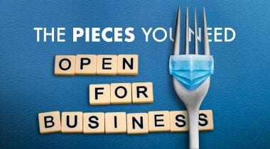 Open for Business banner