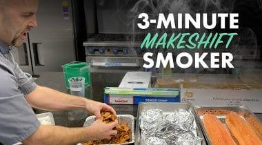 makeshift smoker grahic