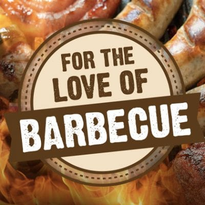 for the love of BBQ graphic