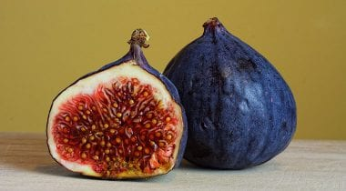 Fresh Halved Figs