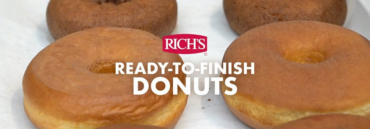 Rich's Ready to Finish Donuts