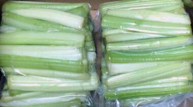 Celery Stalks in Bags
