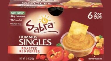 Pack of Individual Sabra Hummus