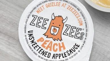 Zee Zee Peach Applesauce