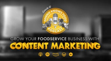 content marketing podcast graphic
