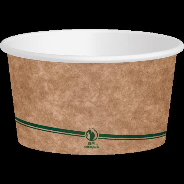kraft paper container