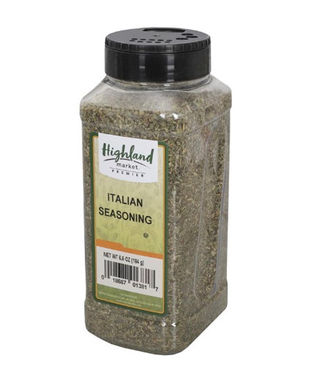highland market italian seasoning bottle
