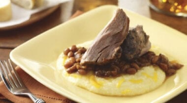 hormel fire braised pork shoulder dish