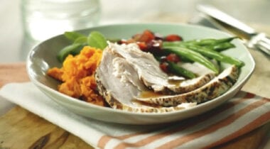 hormel fire braised turkey breast with sweet potatoes and veggies