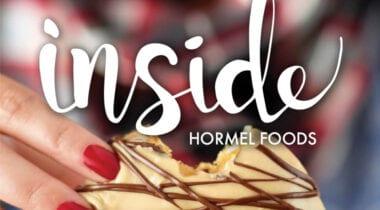 inside hormel foods magazine logo