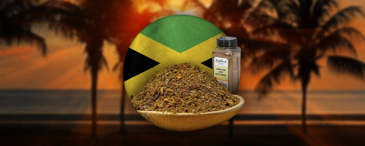 jerk spice bottle seasoning graphic