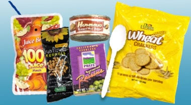 ES foods red hummus meal kit