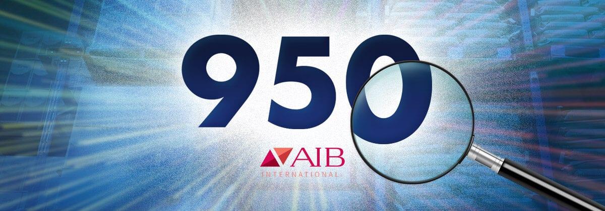 950 score graphic