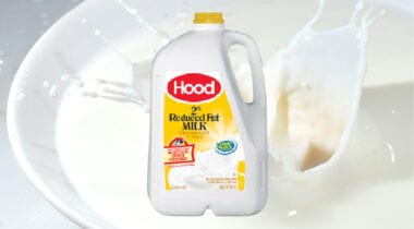 Gallon of 2% white milk