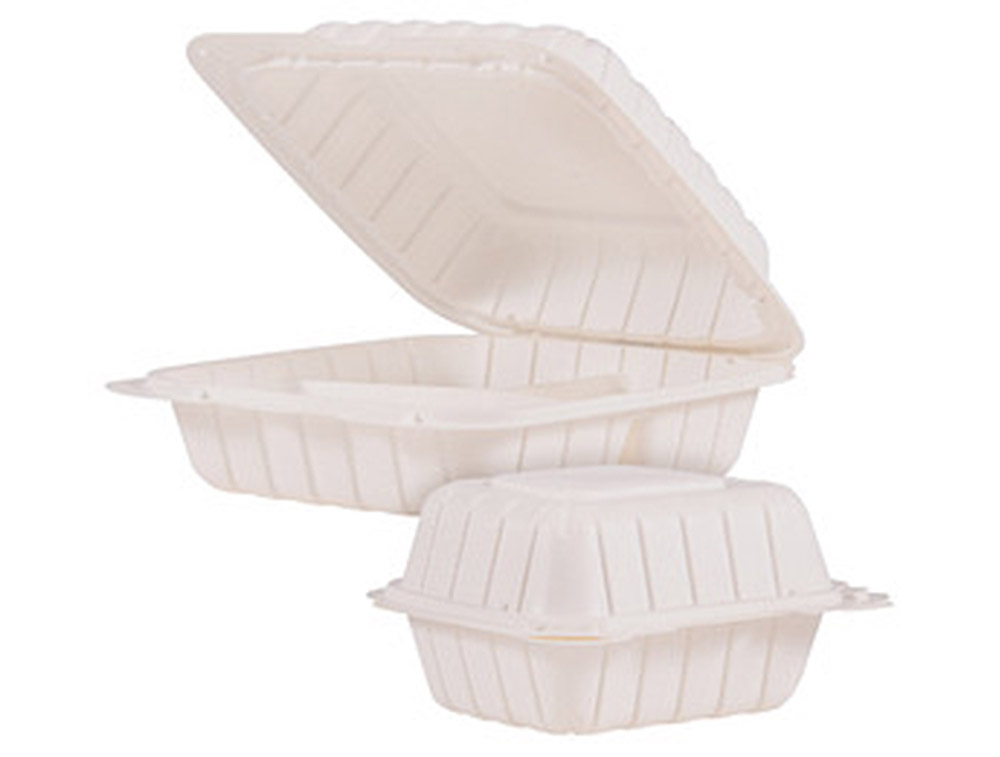 white takeout container