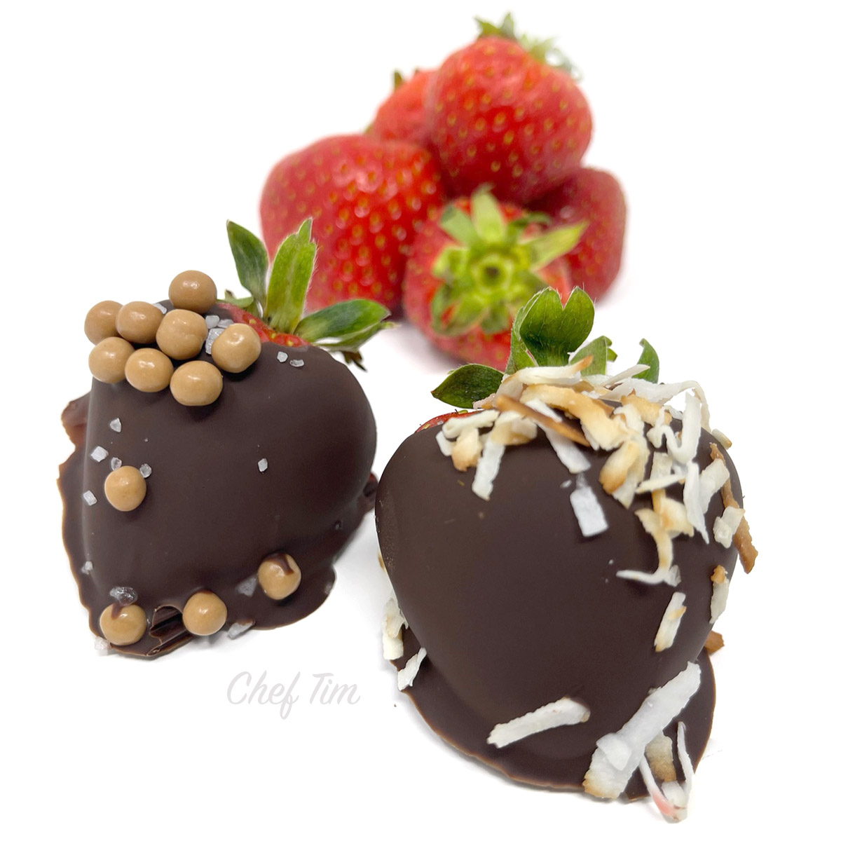 Chocolate Dipped Strawberries - Click for Video
