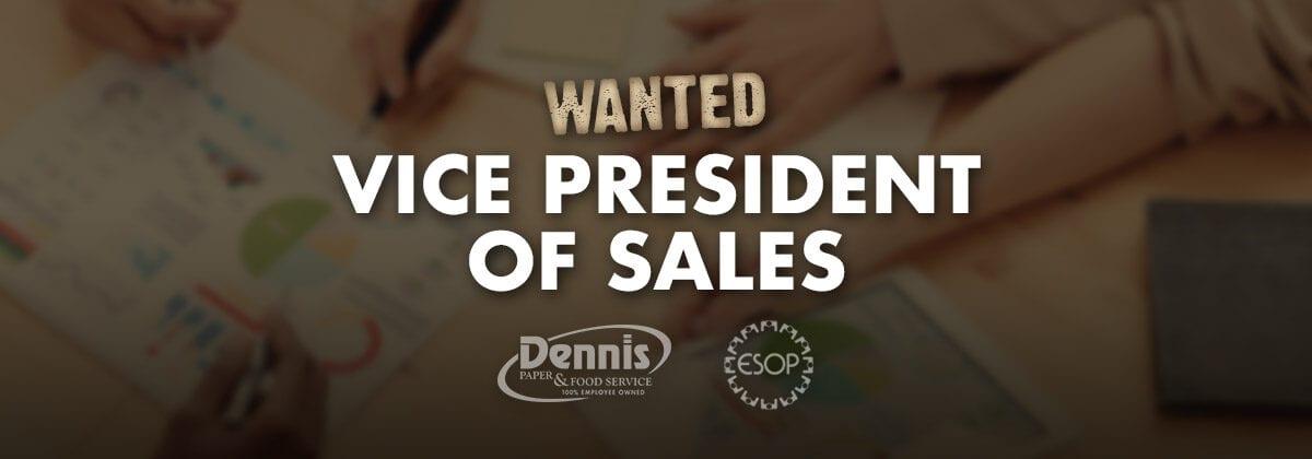 vp of sales graphic