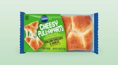 frozen italian cheesy pull apart bread