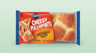 southwest queso pull apart bread