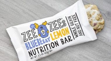 blueberry lemon nutrition bar