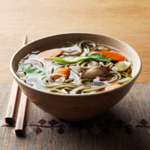 secondary image of beef soba broth bowl