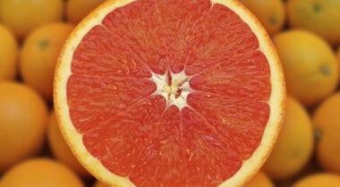 sliced cara cara navel orange