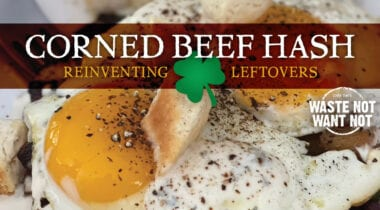 corned beef hash and eggs graphic