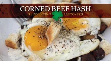 corned beef hash recipe graphic