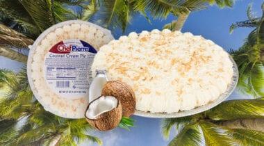 cocnut cream pie graphic