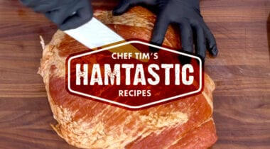 ham recipes graphic