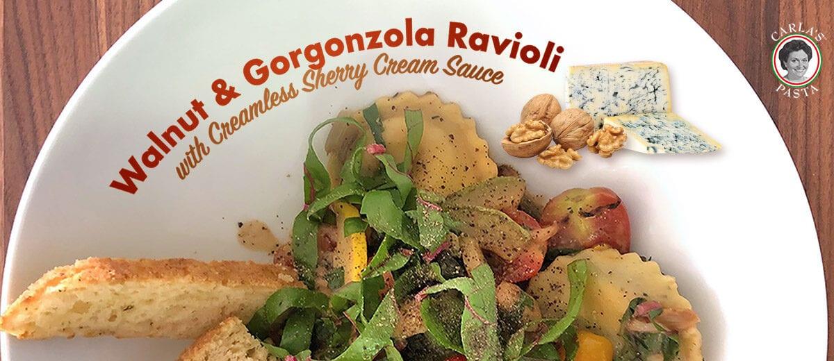 pasta dish, ravioli recipe graphic