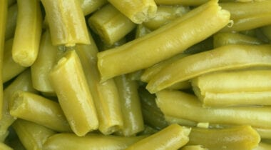 canned cut green beans low sodium