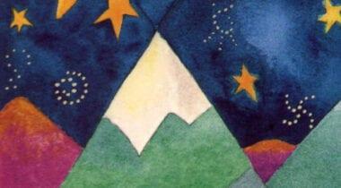 carrabassett high peaks coffee artwork