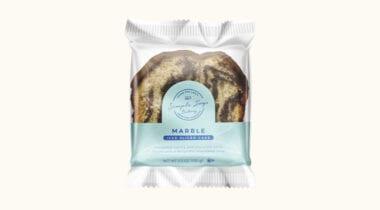 simple joys bakery iced marble cake slice in package