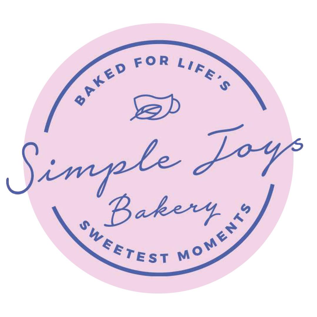 simple joys bakery simple logo graphic