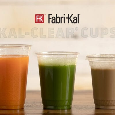 clear plastic cups with different color beverages