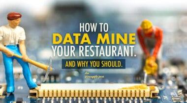 restaurant data mine graphic