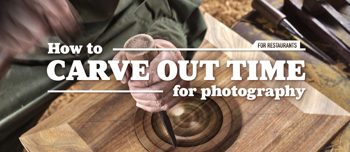 carve out time for photography