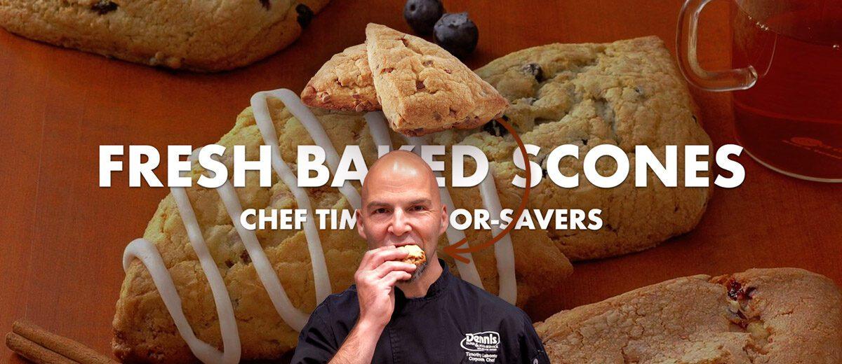 fresh baked scones graphic